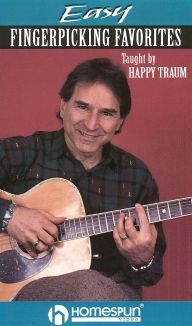 Happy Traum: Easy Fingerpicking Favorites