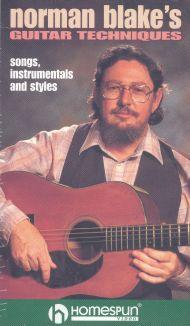 Norman Blake's Guitar Techniques