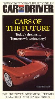 Car and Driver: Cars of the Future