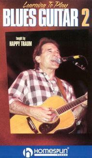 Happy Traum: Learning to Play Blues Guitar, Vol. 2