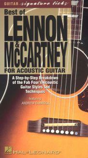 Guitar Signature Licks: Best of Lennon & McCartney for Acoustic Guitar