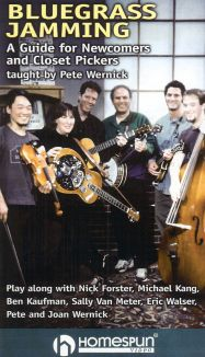 Bluegrass Jamming: A Guide for Newcomers and Closet Pickers