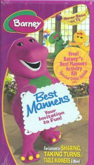 Barney's Best Manners: Your Invitation to Fun