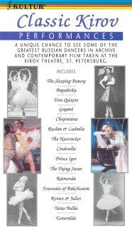 Kirov Ballet Classic Performances