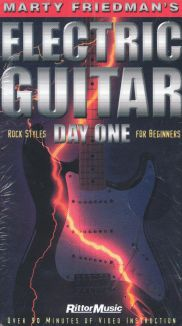 Marty Friedman's Electric Guitar: Day One - Rock Styles for Beginners