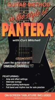 Guitar Method: In the Style of Pantera