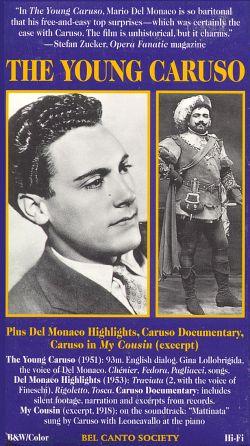 Mario Del Monaco: The Young Caruso
