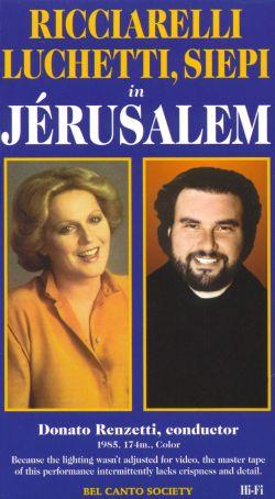 Ricciarelli, Luchetti and Siepi in Jerusalem