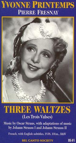 Yvonne Printemps: 3 Waltzes