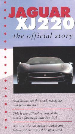 Jaguar XJ220: The Official Story