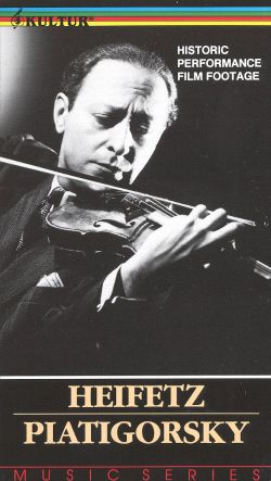 Heifetz and Piatigorsky