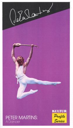 Peter Martins: A Dancer