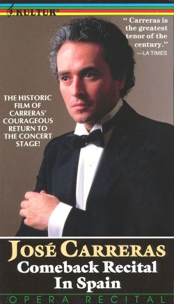 Jose Carreras: Comeback Recital in Spain