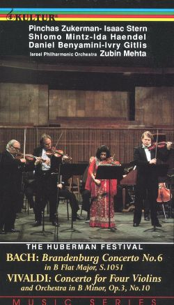 The Huberman Festival, Vol. 5: Bach and Vivaldi