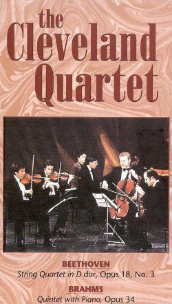 The Cleveland Quartet: Beethoven/Brahms