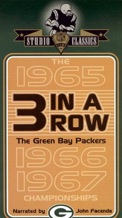 NFL: Green Bay Packers - Three in a Row 1965, 1966, 1967