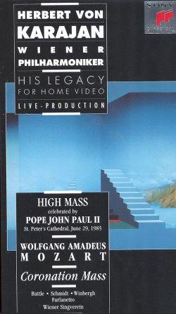 High Mass Celebrated by Pope John Paul II