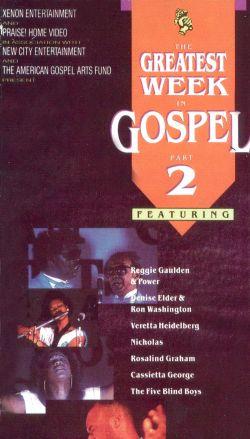 The Greatest Week in Gospel, Part 2