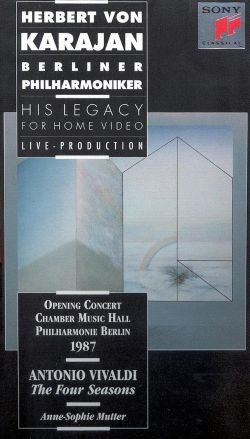 Herbert Von Karajan - His Legacy for Home Video: Vivaldi - The Four Seasons