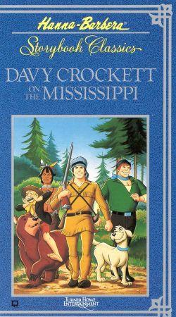 Davy Crockett on the Mississippi