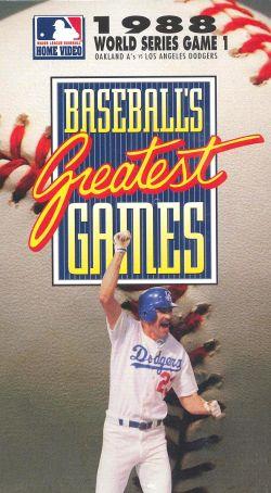 MLB: Baseball's Greatest Games - 1988 World Series Game 1