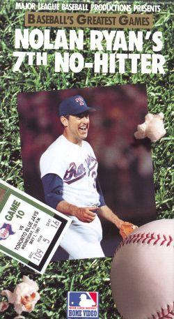 MLB: Baseball's Greatest Games - Nolan Ryan's 7th No Hitter