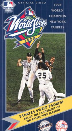 MLB: 1998 World Series - NY Yankees vs. San Diego Padres