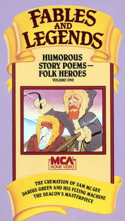 Fables and Legends: Humorous Story Poems: Folk Heroes, Vol. 1