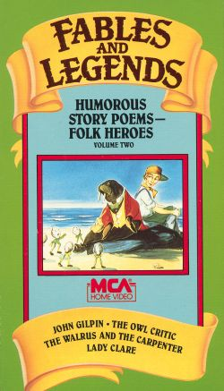 Fables and Legends: Humorous Story Poems: Folk Heroes, Vol. 2