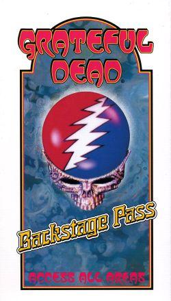 Grateful Dead: Backstage Pass Video