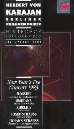 Herbert Von Karajan - His Legacy for Home Video: New Year's Eve Concert 1983