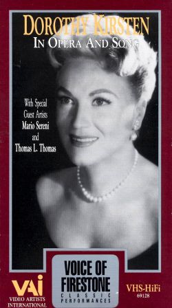 Voice of Firestone: Dorothy Kirsten in Opera and Song