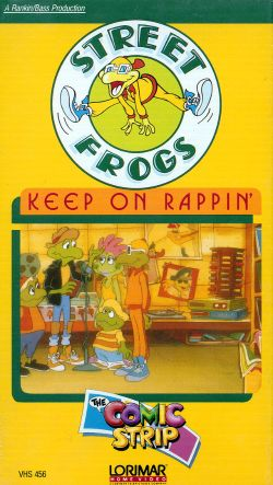 Street Frogs: Keep on Rappin'