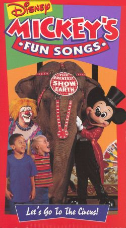 Mickey S Fun Songs Beach Party Vhs