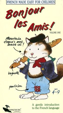 Bonjour les Amis: French Made Easy for Children, Vol. 1