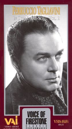 Voice of Firestone: Ferruccio Tagliavini in Opera and Song, Vol. 2