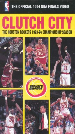 The Official 1994 NBA Championship: Clutch City