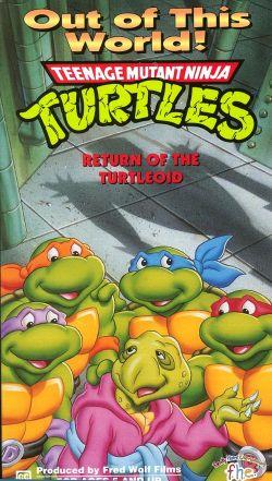 Teenage Mutant Ninja Turtles Out of This World: Return of the Turtleoid