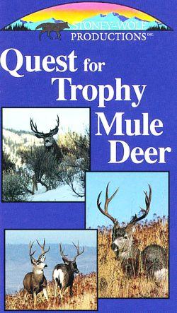 Quest for Trophy Mule Deer