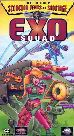 Exosquad: Veil of Doom - Scorched Venus and Sabotage