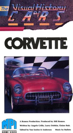 The Visual History of Cars: Corvette