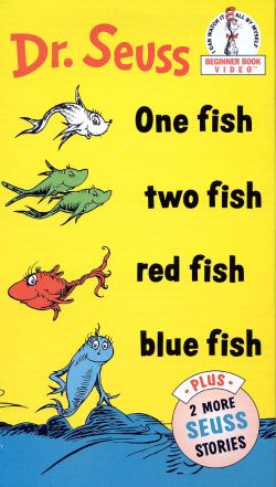 Dr. Seuss: One Fish, Two Fish, Red Fish, Blue Fish