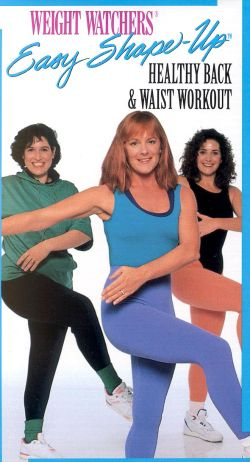Weight Watchers Easy Shape-Up: Healthy Back & Waist Workout