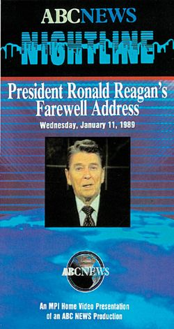 ABC News Nightline: President Ronald Reagan's Farewell Address