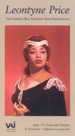 Complete Bell Telephone Hour Performances: Leontyne Price