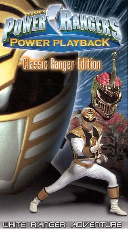 Power Rangers Power Playback White Ranger Adventures