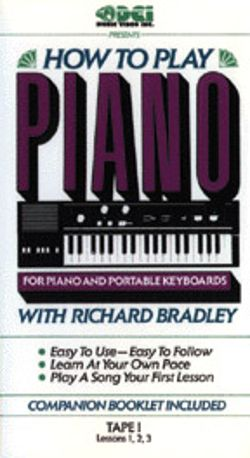 How to Play Piano: For Piano and Portable Keyboards, Tape I