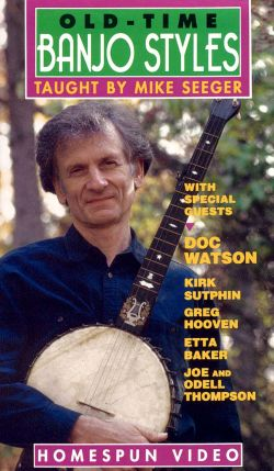 Mike Seeger: Old Time Banjo Styles
