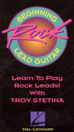 Beginning Rock Lead Guitar