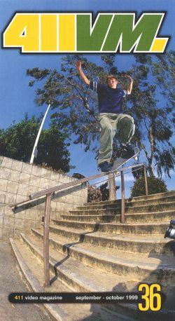 411 Video Magazine: Skateboarding, Vol. 36 (2001)